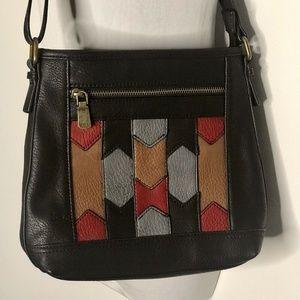 NEW BOC Born Concepts Faux Leather Crossbody Bag